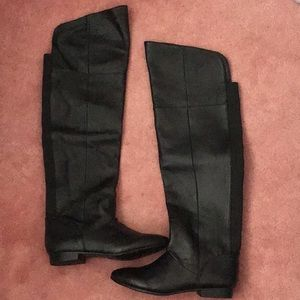 Chinese laundry black knee high boots size 6 NWOT